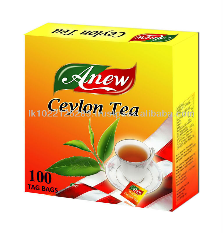 Pesticide residues for China/Taiwan - Anew Ceylon Tea