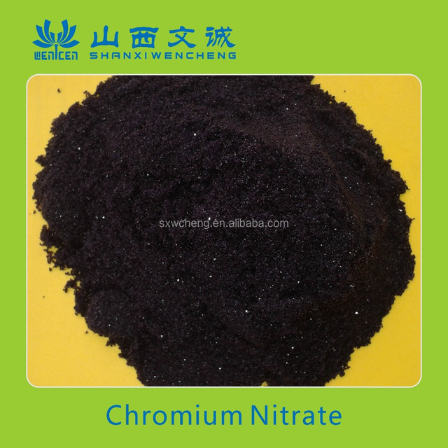 Excellent Chromium Nitrate Nonahydrate