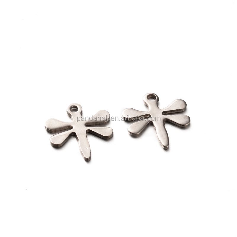 304 Stainless Steel Dragonfly Tiny <strong>Charms</strong>
