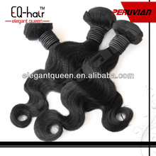 Top quality 5A grade peruvian body wave hair 6-32inch in stock available