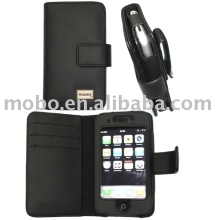 accessory for iphone 3G leather case, leather case for apple iPhone (mobile phones)
