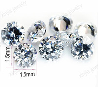 AAA white round cubic zirconia bangkok star cut CZ 2.75mm for making jewelry