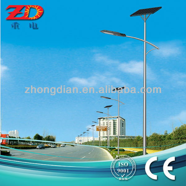 8m pole all-in-one waterproof cree solar led street light