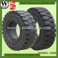 big truck tires with wheels, high load 10.00-20 trailer solid rubber tyre