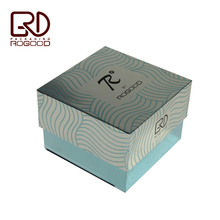 New Silver metallic paper printed packaging box for perfume bottle RGD-P1003