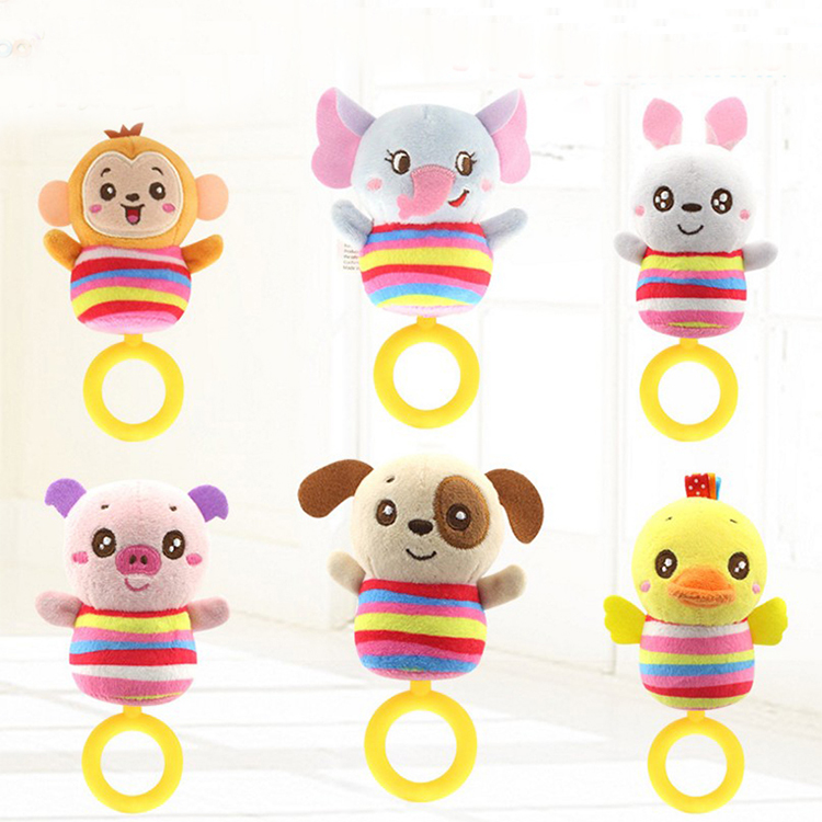 <strong>H001</strong> Animals Baby crib hanging stroller toys
