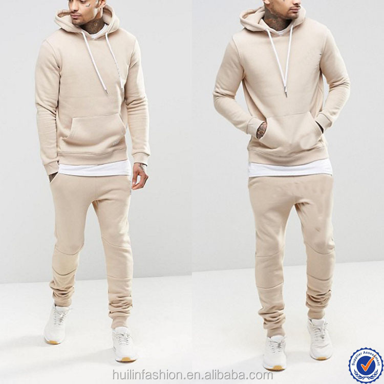 wholesale sweat suits pullover hoodies and sweat pants tracksuit men