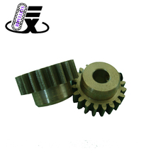 All types of simple design aluminum large custom industrial straight spur gear