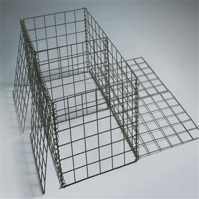 Hot sale 1x1x2m welded wire mesh / galvanized gabion stone cage / gabion boxes for sale