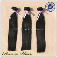 Alibaba supplier premium straight indian human hair extension outlet