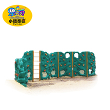 High Reliability safe indoor Kids Rock Climbing Wall l for amusement park