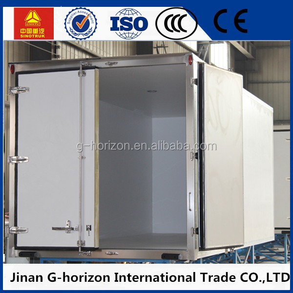 Top selling refrigerator van cargo body for sale