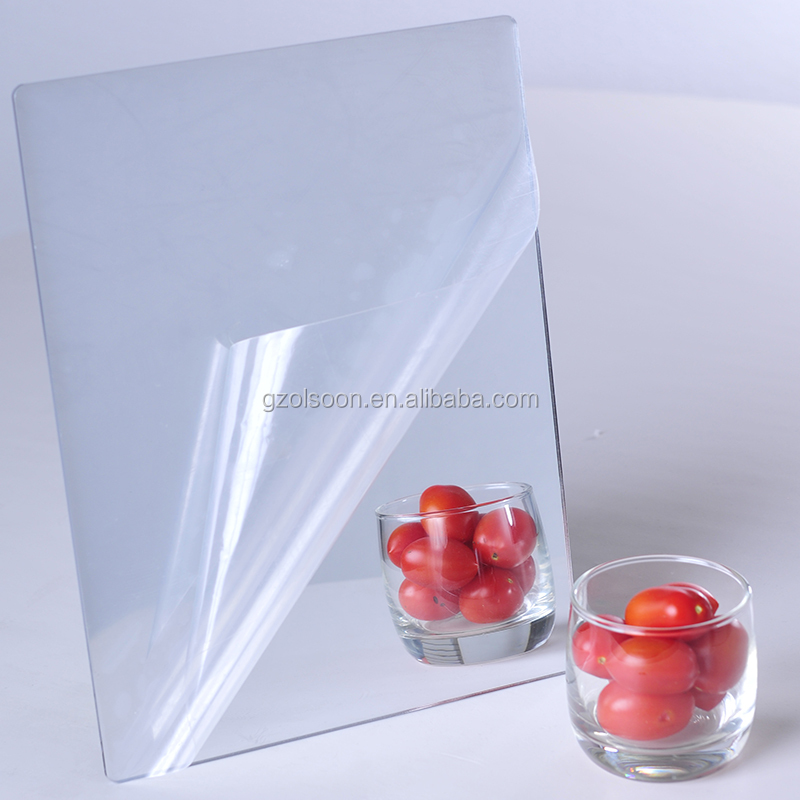 Factory 100% virgin flexible plastic polycarbonate mirror double sided acrylic mirror