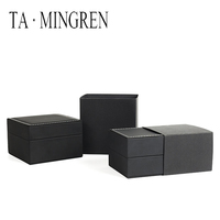 New Product PU Leather Gift Wrap Box For Watch Luxury Custom Logo Watch Box