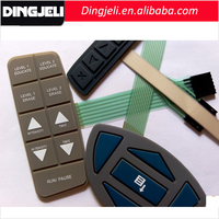 Popular Good Touch Feeling Conductive Silicone Rubber Keypad