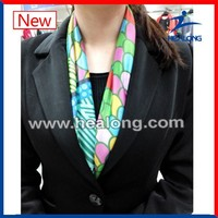Custom Fan Subliamtion Lady Pashmina Silk Fashion Scarf