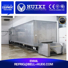 Food Processing Machine Quick Freeze Tunnel Machinery