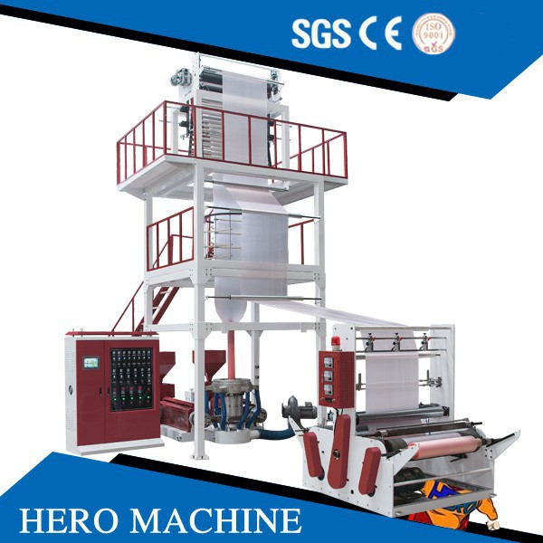 HERO BRAND plastic bag film blowing machine