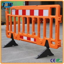 2 M Pedestrian Barrier Fence/ Plastic Safety Fence/ Plastic Traffic Barrier
