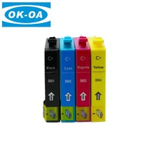 Alibaba hot sale goods compatible ink cartridge T0601 for Epson