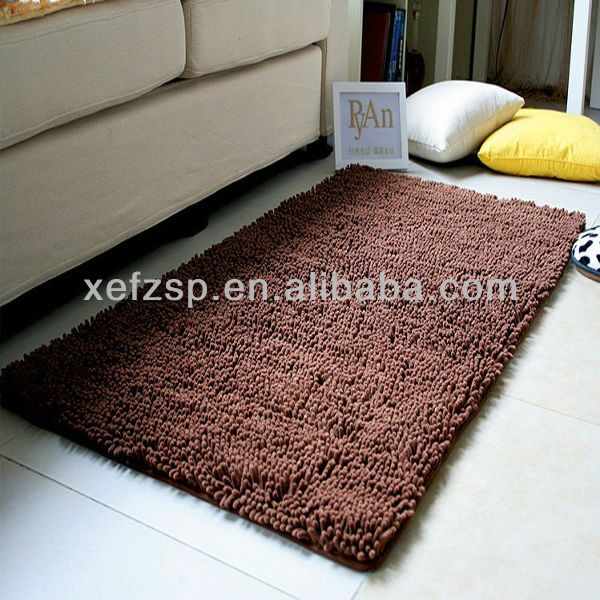 sound absorbing microfiber chenille conference room carpet in china