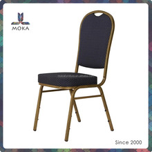 Stacking hotel furniture wholesale price aluminium banquet chair