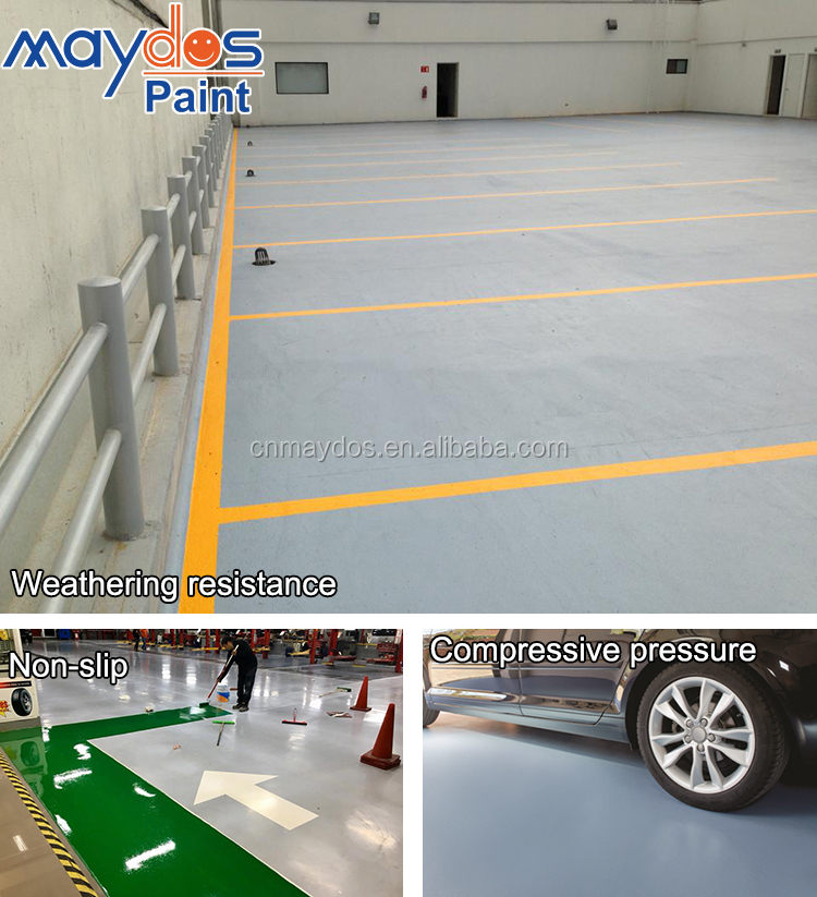 Maydos Outdoor Sport  Flooring Epoxy Rubber Paint
