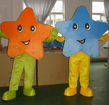 Blue star mascot costume/used mascot costumes for sale