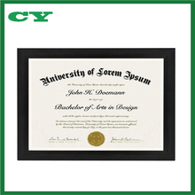 Document Frame - Made to Display Certificates 8.5x11 Inch Document Frames, Certificate Frames, Standard Paper Frame