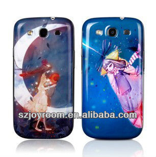 Soft cartoon silicone cover for Samsung galaxy s3 i9300 case