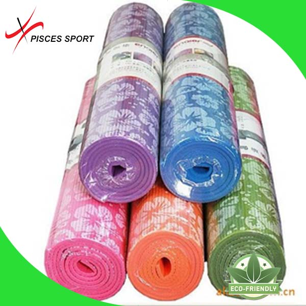 Brand new yoga mat private label with low price