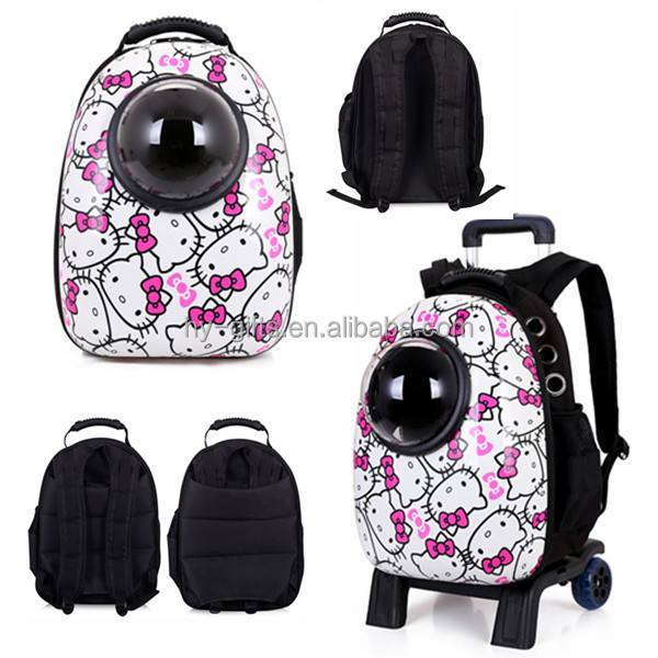 Fashion Capsule carry bag for cats backpack pet carrier
