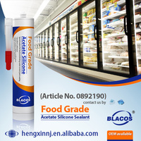 Food Grade FDA Approved Silicone Based Non Toxic Caulk