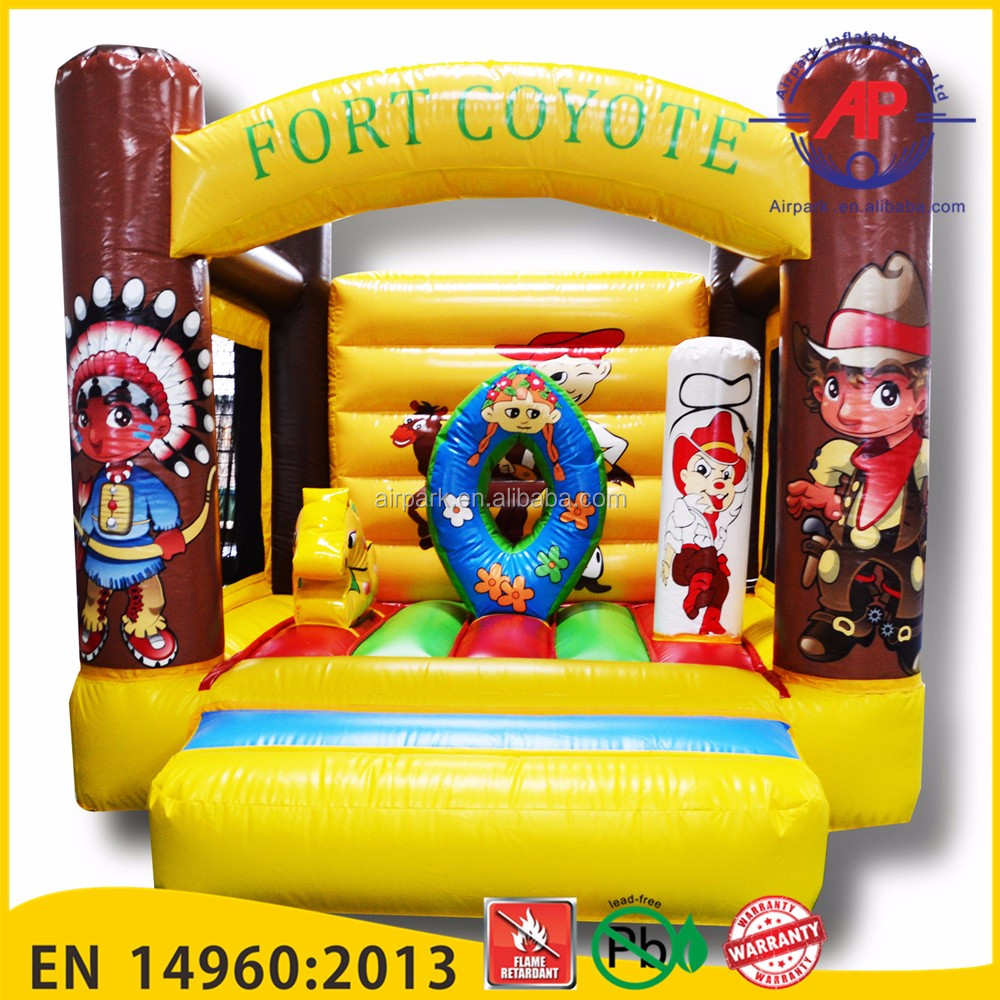 Airpark Durable inflatable obstacle course bounce house,used commercial combo bounce inflatable for sale