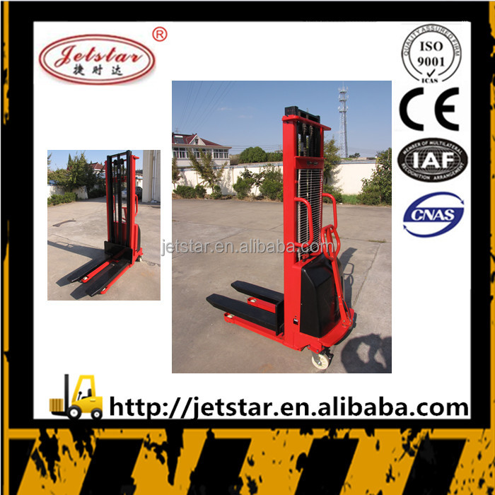 mini Residential structural steel semi electric forklift