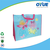 Hot selling eco-friendly custom Fashion shopping Cheap and high quality recycle bag foldable shopping bag