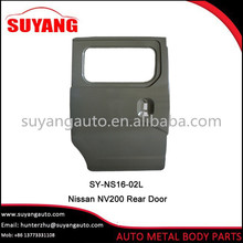 Replacement Rear door For N issan NV200 Auto Body Parts