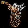 2D motif light angel for outdoor street decoration