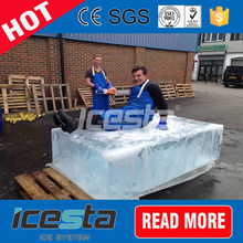 10ton Container 10t Containerized Mobile Brine Pool Block Ice Machine For Botswana