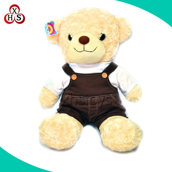wholesale 2015 stuffed cute custom teddy bear soft animal
