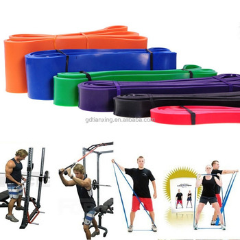 Elastic Durable 208cm Fashion Resistance loop Gym bands