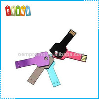 Wholesale key shaped usb flash drive with custom logo