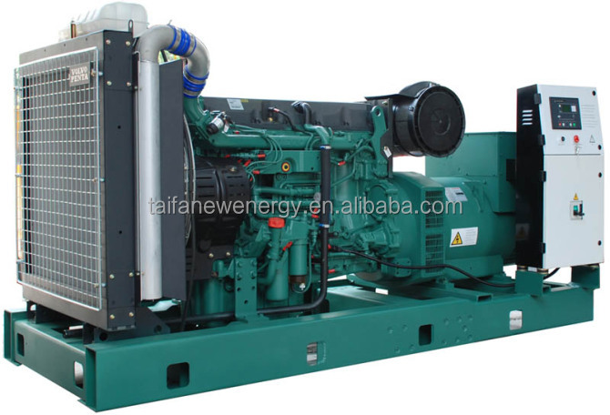 VOLVO small power 68kw High Quality diesel generator set