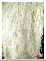 Popular curly long pile/hair faux/fake/artificial fur for vest,coat