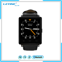 New Round MTK6572 Smartwatch Mobile Dual Sim Card Hand Wifi 4G 3G Smart Watch Phone Android Waterproof IP67 GPS Tracker