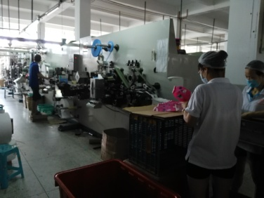 Sanitary Napkins Making