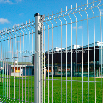 Powder coated 2D Twin Wire Mesh Panels with high quality