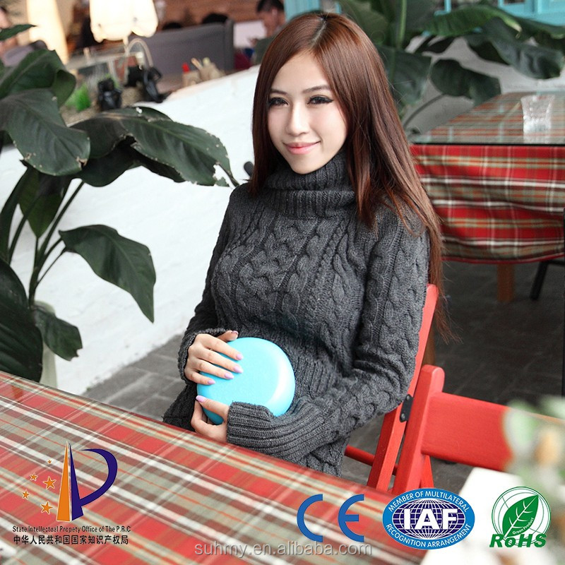 Ceramic disc keeping warm 2-6 hours portable handy heater 2016 new heating pad can use as health care and hands warmer
