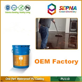 Eco-friendly elastomeric roof coating swimming pool paint