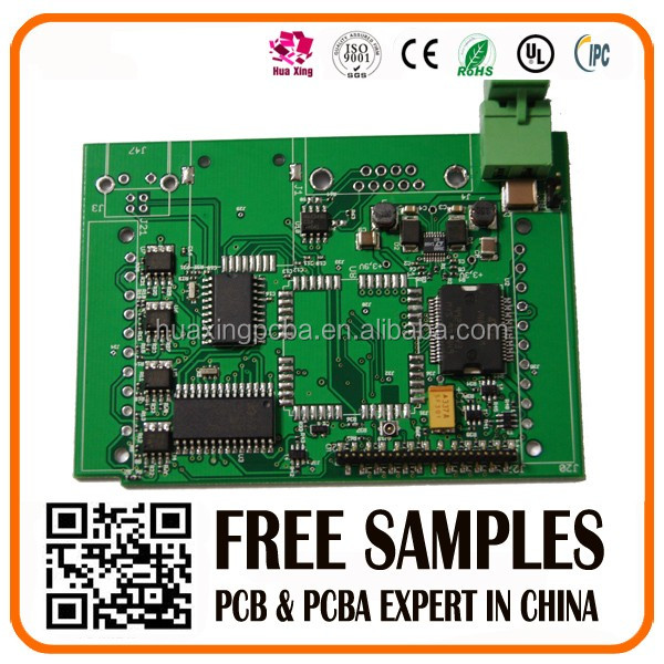 one stop pcb service, smd pcb assembly, plated through holes pcb assembly